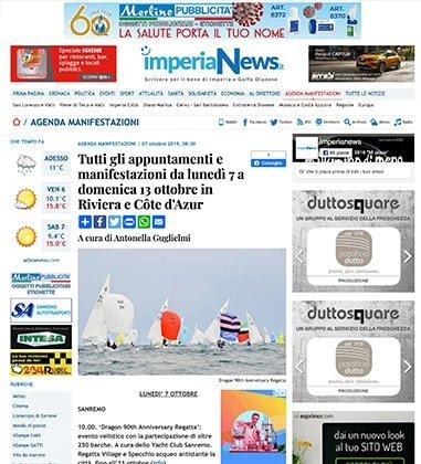Tutti gli appuntamenti e manifestazioni da lunedì 7 a domenica 13 ottobre in Riviera e Côte d'Azur