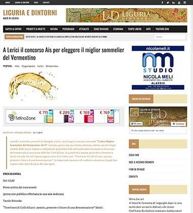 A Lerici il concorso Ais per eleggere il miglior sommelier del Vermentino