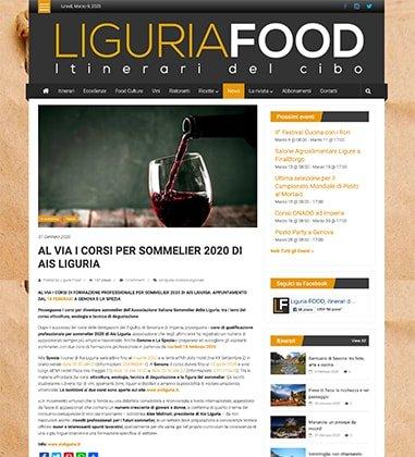 Al via i corsi per sommelier 2020 di Ais Liguria